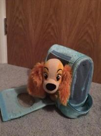 Lady and the tramp soft toy