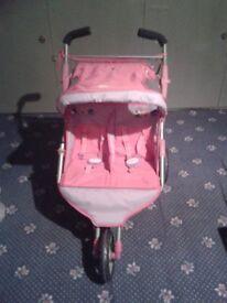Babyborn double buggy