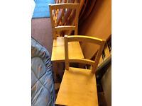 2 dining chairs Ikea