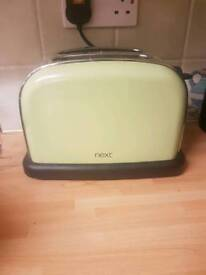Next 2 slice toaster