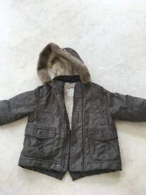 Boy's Winter Coat 12-18 months