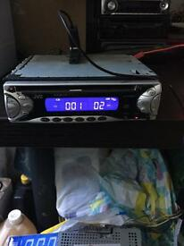 Jvc cd player 45 x 4 comes with cage but no surround