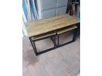 NEST OF TABLES/COFFEE TABLE- 5MONTHS OLD