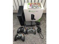 Xbox 360 slim 3 controllers