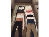 Women's trousers and jeans