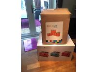 Coral Toaster and storage set