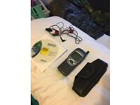 Nokia 7110 classic slide mobile phone with charger and accessories