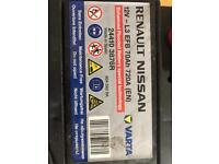 Car Battery 12 V 70AH 720 A EFB Start Stop Maintenance Free Size L 275 x 175 x Height 190