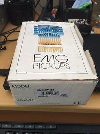 EMG ZW Set and correct long shaft pots