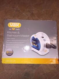 New In Box Vax Kitchen And Bathroom Steam Cleaner S5
