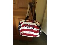 'Soulcal'& Co Holdall. Modern and'Edgy'. Very Good Condition.