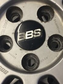 Genuine bbs lm alloy wheels