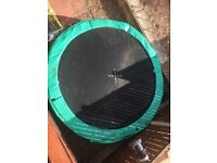 10ft trampoline no enclosure well looked after but used