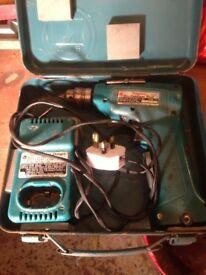 makita 10mm cordless drill vintage