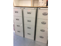 Filing cabinets for sale £40 each. 4 Drawers. COLLECTION ONLY