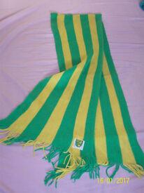 Norwich City FC (Canaries) Fan Scarf