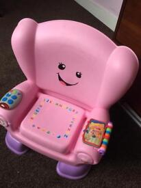 Fisher price girls chair