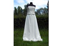 UK Size 12 Handmade Designer Forever Yours Stunning Ivory Wedding Dress