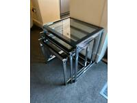 3 nest tables great condition pick up today