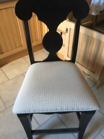 Stunning American designed dining chairs x4