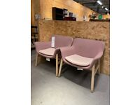 VEDBO Armchair pink and blue available IKEA Croydon #BargainCorner