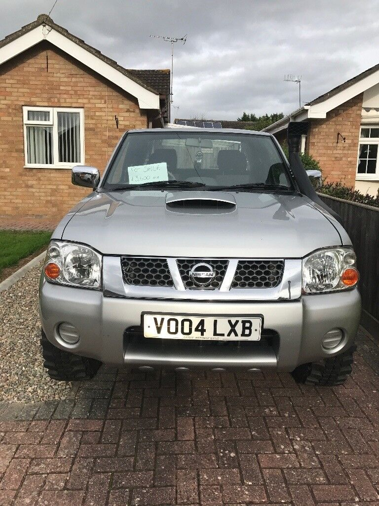 Nissan navara truck, good condition well looked after and new engine at 64,000 miles