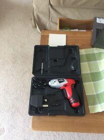 Brand new cordless screwdriver