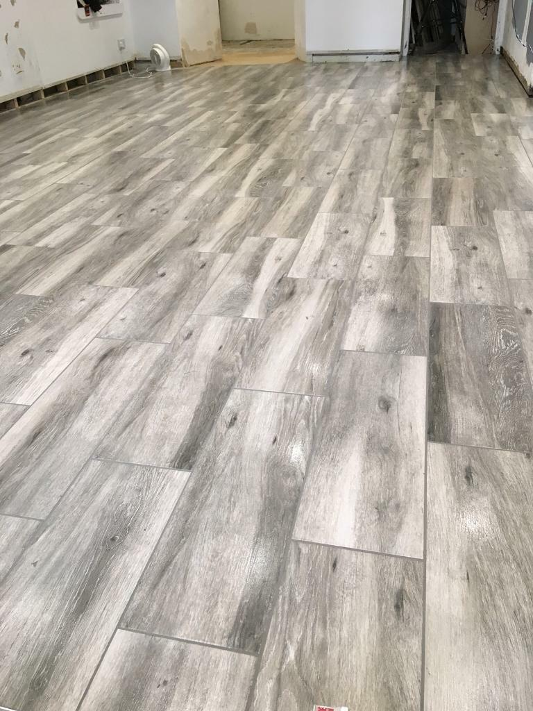 Wood Effect Ceramic Floor Tile 10 Meter Square In Motherwell
