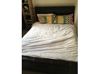 King size double bed and Silentnight matress