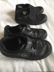 Boys school shoes and plimsolls