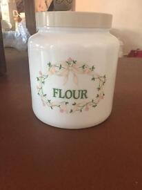 Eternal Beau Flour canister
