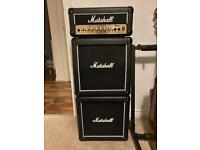 Marshall MG15 ms2 mini stack guitar amp