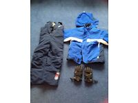 Child's ski outfit