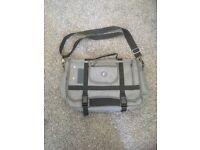 Men's Grey Messener Bag / Satchel
