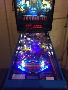 Independence Day ID4 Pinball Machine Ashmore Gold Coast City Preview