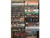 Collection of VHS films and box sets - Job lot