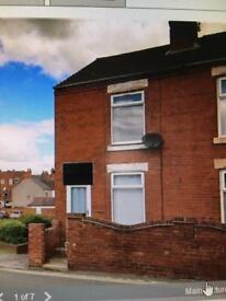 2 bed house to rent clowne