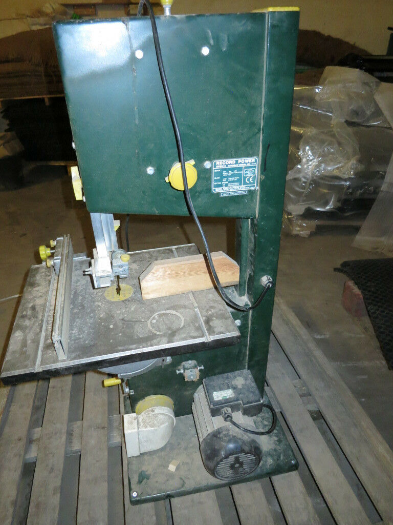 Record Power RPBS12 Band Saw Bandsaw - Good working order