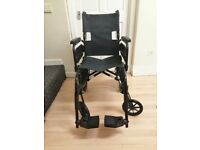 Folding wheelchair in good condition