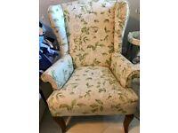 John Lewis floral armchair