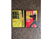 KILLBILL VOL 1 & Vol 2 DVD Job lot in Excellent Condition