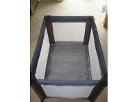 Travel Cot by Mamas & Papas, approx 1003(L)x710(W) x770(H). Excellent condition, £20