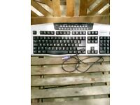 computer key board.