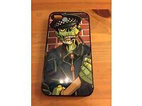 Zombie Cop apple iPhone mobile phone 4s designer Case cover rare