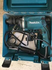 Makita 240v hammer percussion drill