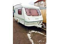 Elddis Whirlwind XL 1000, 1995, 2 Berth, With Caravan Mover and Full Size Awning and more £1,250 ono