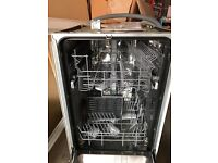 Electrolux ESL42000lo integrated slim line dishwasher