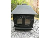 Villager 14/16kw wood burner,log burner,multifuel stove,m