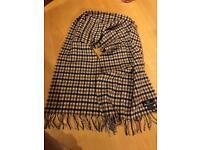 Aquascutum scarf. Lambs wool
