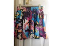 Girls batman skirt Age 14 - 15 year